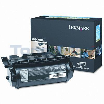 LEXMARK X644E RP PRINT CTG FOR LABEL APPS 32K